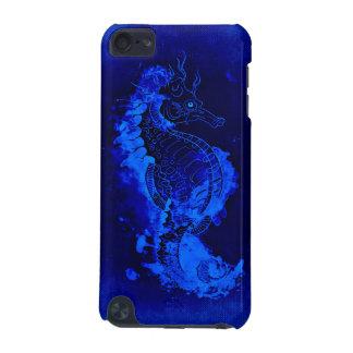 Funda Para iPod Touch 5G Pintura azul del Seahorse