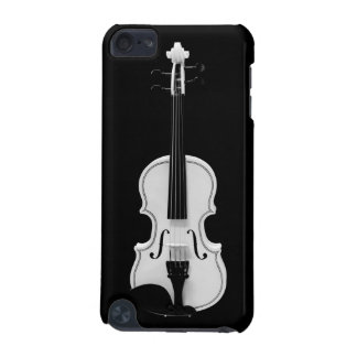 Funda Para iPod Touch 5G Retrato del violín - fotografía blanco y negro