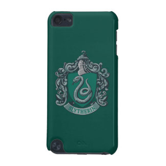 Funda Para iPod Touch 5G Verde del escudo de Harry Potter el | Slytherin