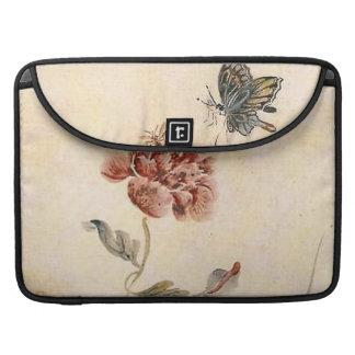 Funda Para MacBook Acuarela de la abeja, de la mariposa y de la