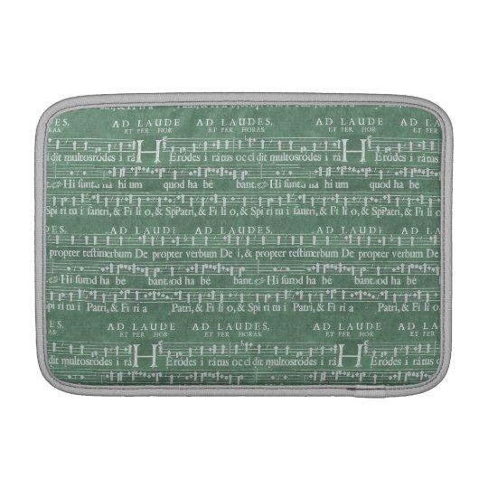 """Funda Para MacBook Air Aire medieval 11"""" de Macbook del manuscrito de la"""