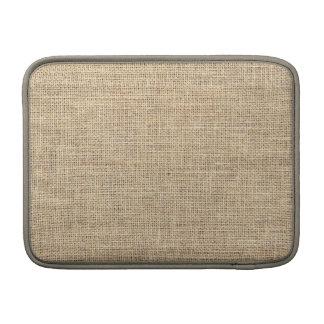 Funda Para MacBook Air Arpillera rústica del vintage del país