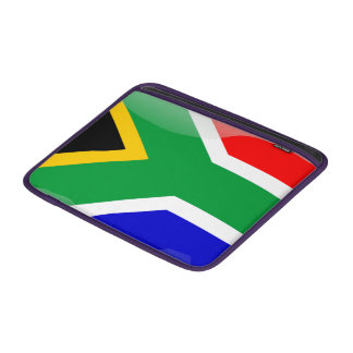 Funda Para MacBook Air Bandera brillante de Suráfrica