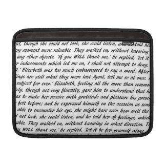 Funda Para MacBook Air Citas de Jane Austen