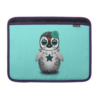 Funda Para MacBook Air Día azul del pingüino muerto del bebé
