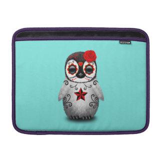 Funda Para MacBook Air Día rojo del pingüino muerto del bebé