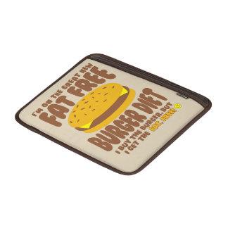 Funda Para MacBook Air Dieta sin grasa de la hamburguesa