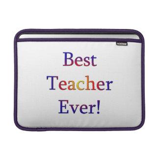 Funda Para MacBook Air El mejor profesor nunca