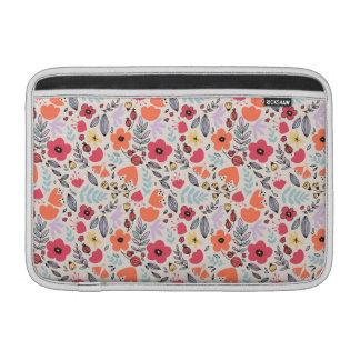 Funda Para MacBook Air Flores de la fantasía
