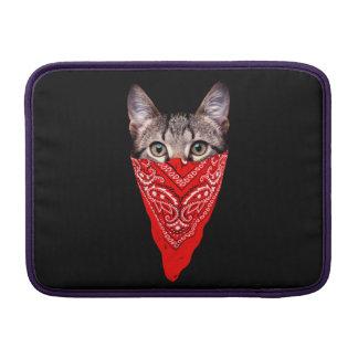 Funda Para MacBook Air gato del gángster - gato del pañuelo - cuadrilla