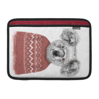 Funda Para MacBook Air Koala del invierno (roja)
