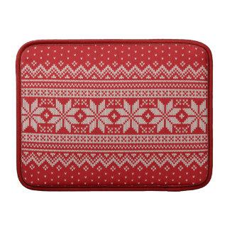 Funda Para MacBook Air Modelo que hace punto del suéter del navidad -