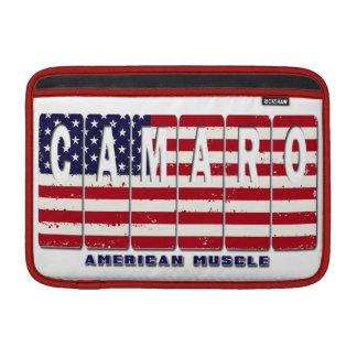 Funda Para MacBook Bandera patriótica del coche del músculo de Chevy
