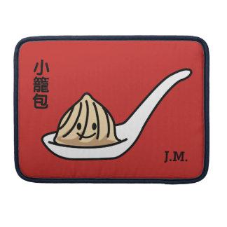 Funda Para MacBook Bollo chino de Dim Sum de la bola de masa hervida