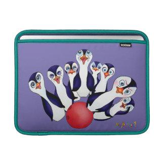 Funda Para MacBook Bolos felices y Penguinpins por los comp felices