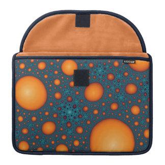 Funda Para MacBook Burbujas anaranjadas