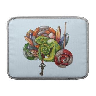 Funda Para MacBook camaleón y cristales