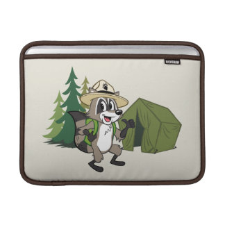 Funda Para MacBook Campout americano de Rick el | del guardabosques