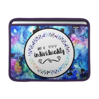 Funda Para MacBook El arte es individualidad