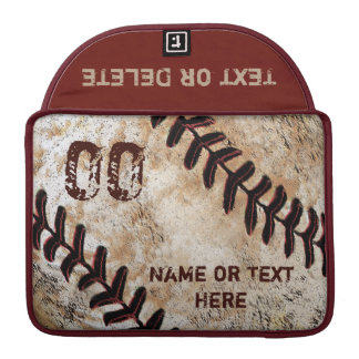 Funda Para MacBook El béisbol personalizó la caja 13, 15 de MacBook