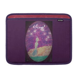 Funda Para MacBook El usignuolo lírico de la fantasía elige color de