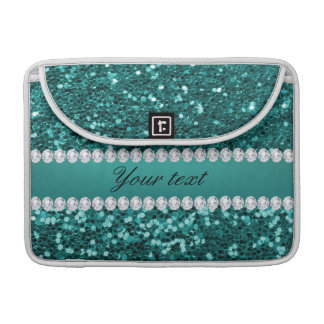 Funda Para MacBook Falso brillo y diamantes del trullo elegante