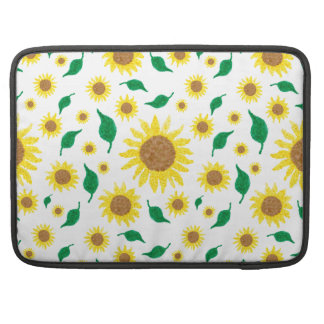 Funda Para MacBook Girasoles