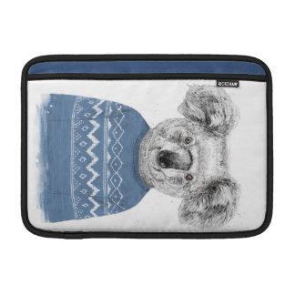 Funda Para MacBook Koala del invierno