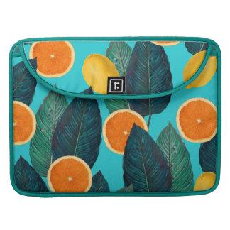 Funda Para MacBook limones y trullo de los naranjas