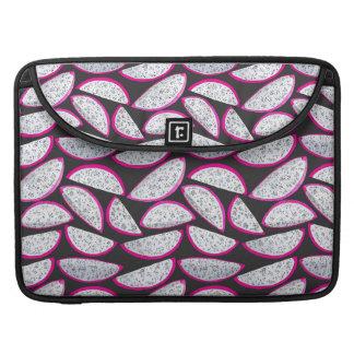 Funda Para MacBook Modelo de la fruta del dragón en fondo negro