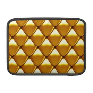Funda Para MacBook Modelo elegante de la escala del oro