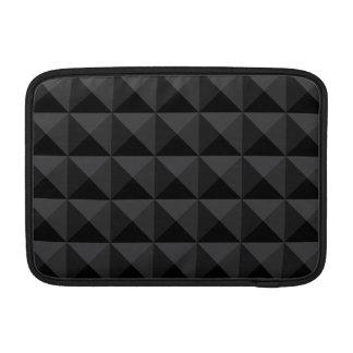 Funda Para MacBook Modelo geométrico moderno de la casilla negra