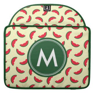 Funda Para MacBook Modelo rojo de la sandía del verano con sabor a