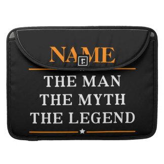 Funda Para MacBook Nombre personalizado el hombre el mito la leyenda