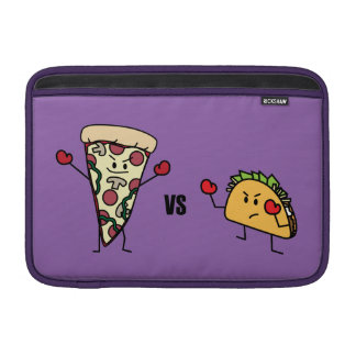 Funda Para MacBook Pizza de salchichones CONTRA el Taco: Mexicano