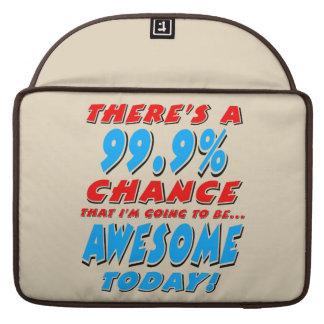 Funda Para MacBook Pro 99,9% El IR A SER IMPRESIONANTE (negro)