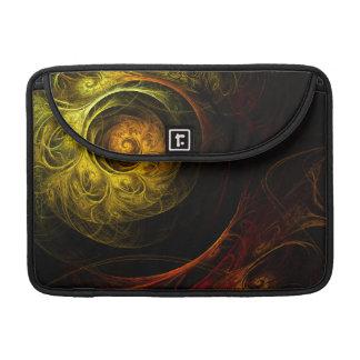 Funda Para MacBook Pro Arte abstracto rojo floral Macbook de la salida