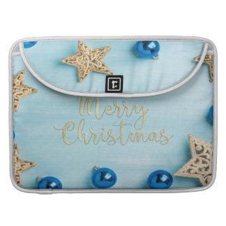Funda Para MacBook Pro Brillo festivo de las Felices Navidad de las