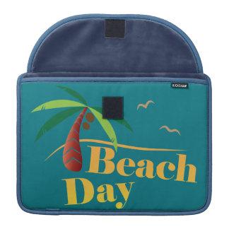 Funda Para MacBook Pro Día perfecto de la playa del verano