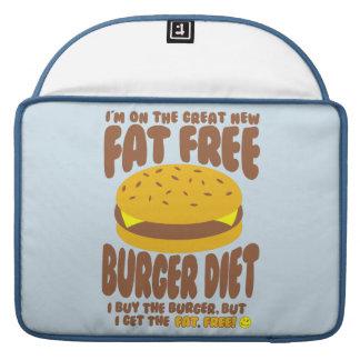 Funda Para MacBook Pro Dieta sin grasa de la hamburguesa