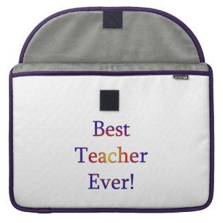 Funda Para MacBook Pro El mejor profesor nunca