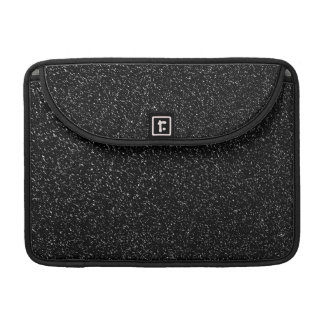 Funda Para MacBook Pro Estilo de piedra negro moderno - espacio