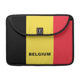 Funda Para MacBook Pro Manga de MacBook de la bandera de Bélgica