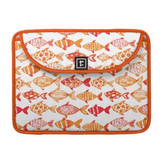 Funda Para MacBook Pro Modelo anaranjado brillante de los pescados de la