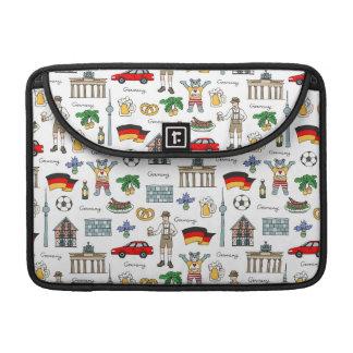 Funda Para MacBook Pro Modelo de los símbolos de Alemania el |