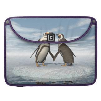 Funda Para MacBook Pro Pares de los pingüinos