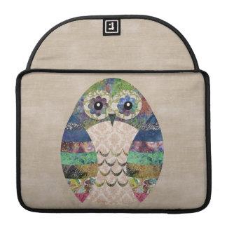 Funda Para MacBook Pro Personalizado bohemio del pájaro de Boho del búho
