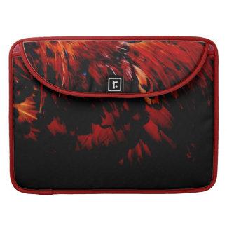 Funda Para MacBook Pro plumajes rojos