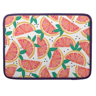 Funda Para MacBook Pro Sorpresa de la fruta cítrica