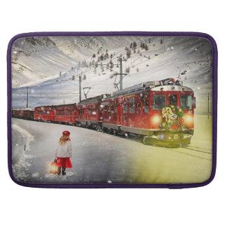 Funda Para MacBook Pro Tren expreso de santa del Polo Norte - el navidad